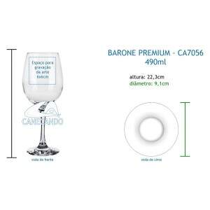 Taça Barone 490ml - CA7056