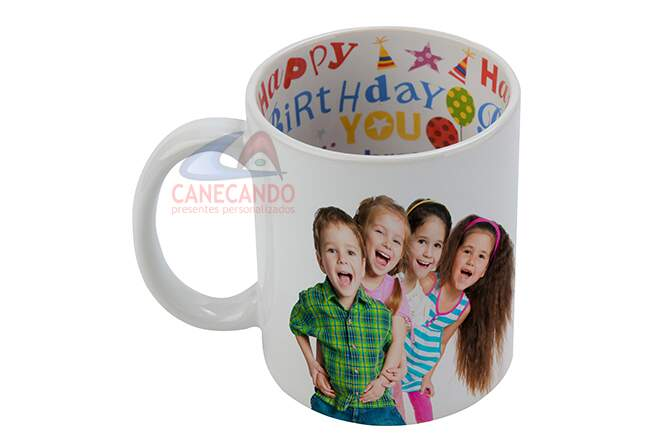 Caneca Happy Birthday