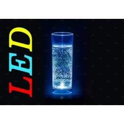 Copo long drink LED colorido com SILK