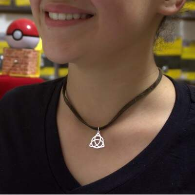 Pingente - Triquetra - Charmed - 1176