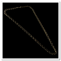 Corrente Folheada a Ouro 18k - Groumet  - 50cm - 5,0mm - 884