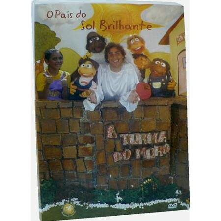 DVD O PAÍS DO SOL BRILHANTE - A TURMA DO MURO
