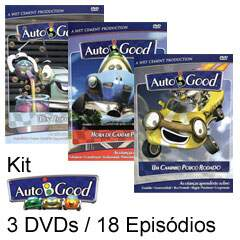 KIT AUTOBGOOD - 3 DVDS