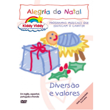 DVD KIDDY VIDDY - ALEGRIA DO NATAL