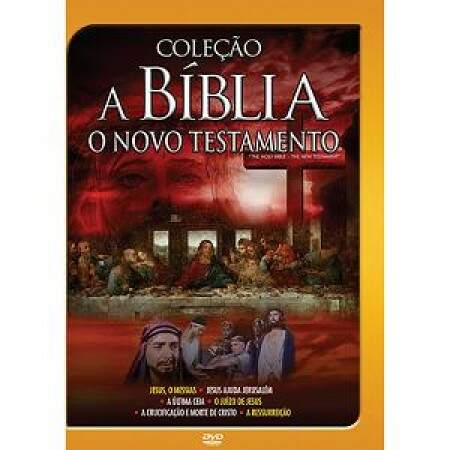 DVD A BÍBLIA - O NOVO TESTAMENTO - JESUS, O MESSIAS - VOL. 4