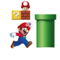 Kit Decorativo - 01 unidade - Super Mario Bros - Cromus Festas