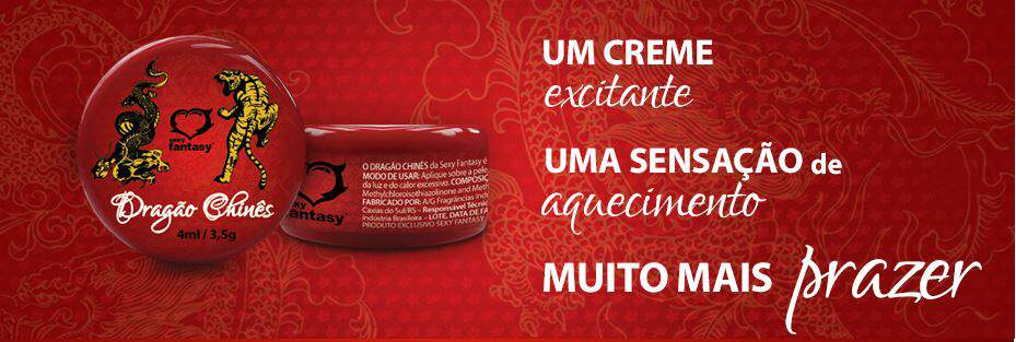 Pomada Dragão Chinês Excitante 4ml