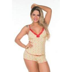 Short Doll Costa Nua Pimenta Sexy