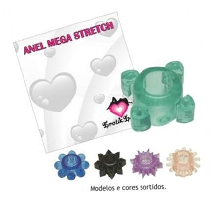 Kit Anel Mega Stretch Aromatizado com 20 unid  Distribuidora Sex Shop
