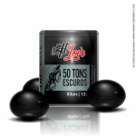 Soft Ball Triball 50 Tons Escuros 3 Unid