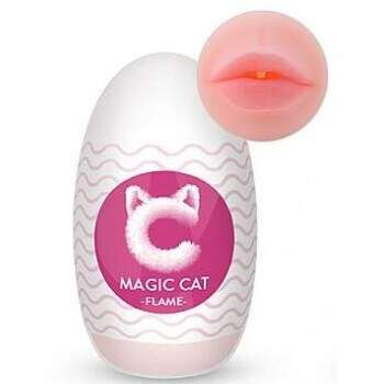 Masturbador Masculino Egg Magic Cat Flame