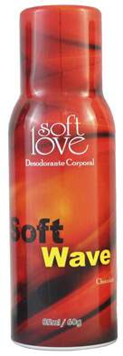 Soft Wave Desodorante Íntimo Soft Love Chocolate 85ml