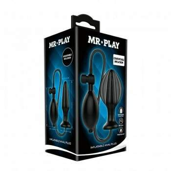 Plug Anal Inflável Mr Play