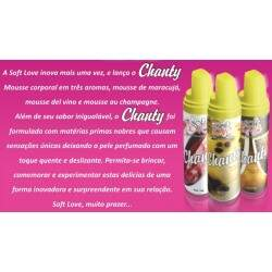 Chanty Mousse Corporal Soft love - Mousse de Maracujá 150ml/42g
