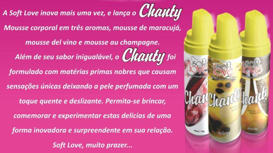 Chanty Mousse Corporal - Del Vino 150ml/42g