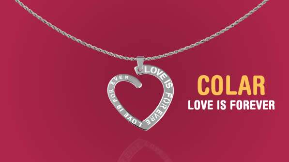 Colar Love Is Forever