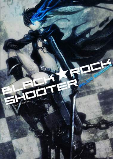BLACK ROCK SHOOTER (Completo 01 DVD)
