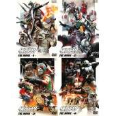 Kamen Rider The Movie Box (Completo 04 DVDs)