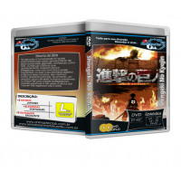 "Shingeki No Kyojin (Completo 02 DVD\'s) ""Attack on Titan\"""