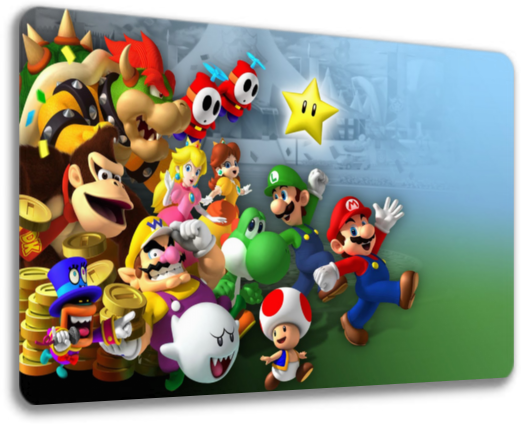 MousePad 05 - Super Mario