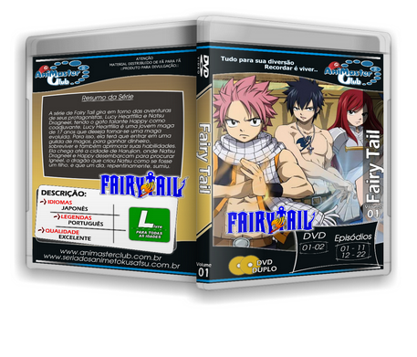 Fairy Tail (Completo 24 DVDs)