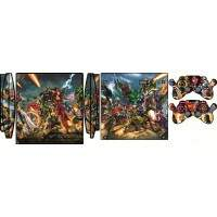 Skin Ps3 Slim - Mod. 27 Marvel Comics