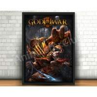 Quadro 31x46cm - God Of War
