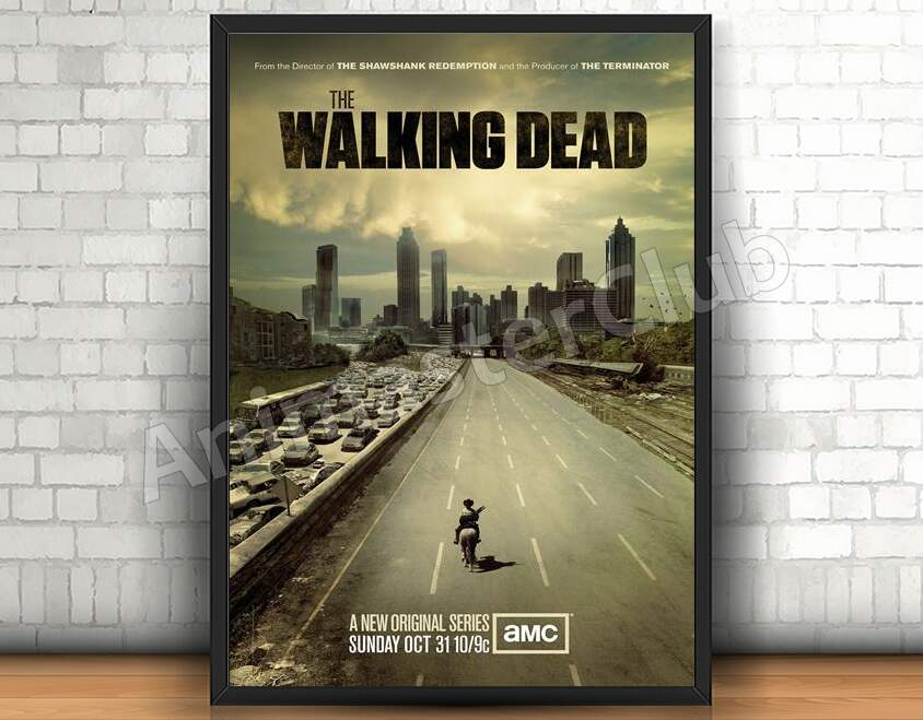 Quadro 31x46cm - The Walking Dead