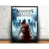 Quadro 31x46cm - Assassins Creed