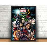Quadro 31x46cm - Ultimate Marvel vs Capcom 3