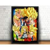 Quadro 31x46cm - Dragon Ball