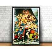 Quadro 31x46cm - Street Fighter