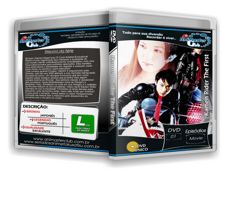 Kamen Rider The First (Completo 01 DVD)