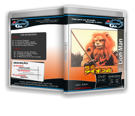 Lion Man (Completo 07 DVDs)