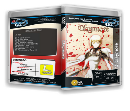 Claymore (Completo 03 DVD\\\'s)
