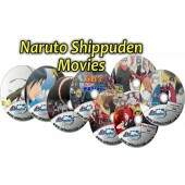 A Morte de Naruto + Laços + Herdeiros da Vontade do Fogo + A Torre Perdida + Blood Prison + Road To Ninja + The Last: Naruto the Movie + Boruto Movie (08 DVDs) Super PROMOÇÃO