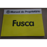 Manual Do Proprietário Fusca 1983 Original