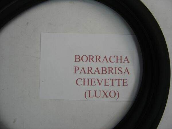 Borracha do Parabrisa Chevette (c/ friso)