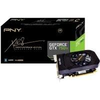 Placa de Vídeo GeForce GTX 750TI 2GB GDDR5 128bit PNY VCGGTX750T2XPB