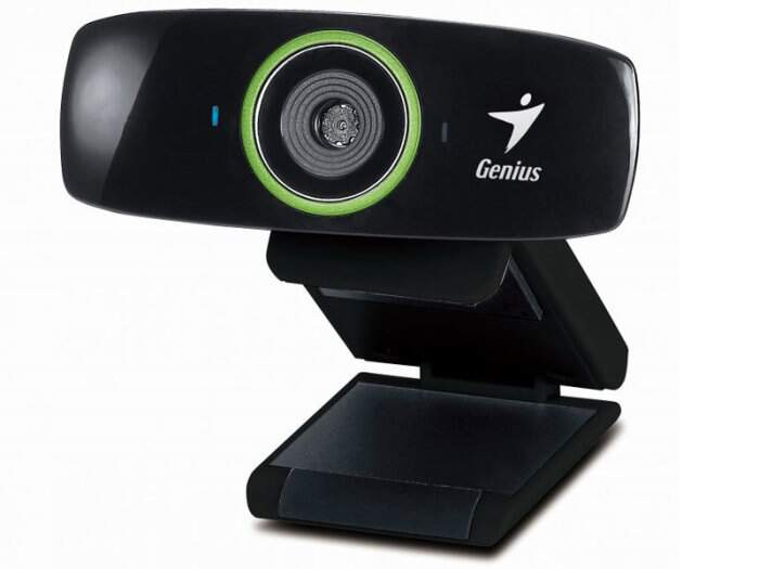 Webcam Genius FaceCam 2020 HD 720p USB c/ Microfone