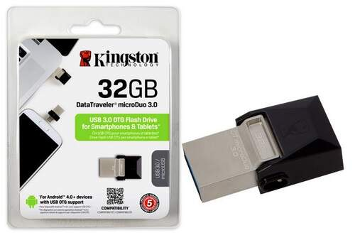 Pen Drive 32GB Kingston Duo DTDUO3/32GB USB 3.0