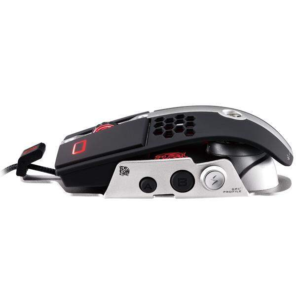 Mouse Thermaltake Level 10 M 8200DPI USB Preto