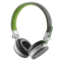Headphone Trust Urban Fyber Cinza/Verde c/ Mic.