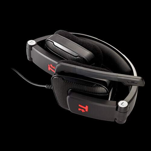 Headphone Thermaltake esports Shock Gaming - Diamond Black (c/ microfone)