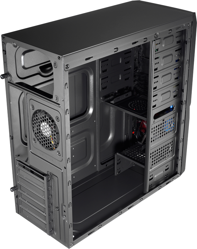 Gabinete Aerocool V3X Window Black Mid Tower ATX