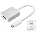 Adaptador USB-C 3.1 p/ HDMI 1080p MAC/Win LT-236