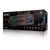 Teclado C3tech Gaming KG-50BK LED Preto - USB
