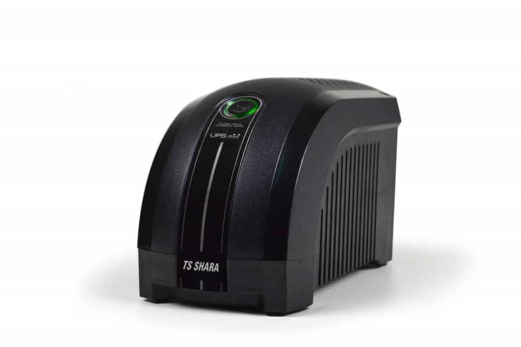 Nobreak 600VA TS Shara UPS Mini Biv-115 6 Tomadas