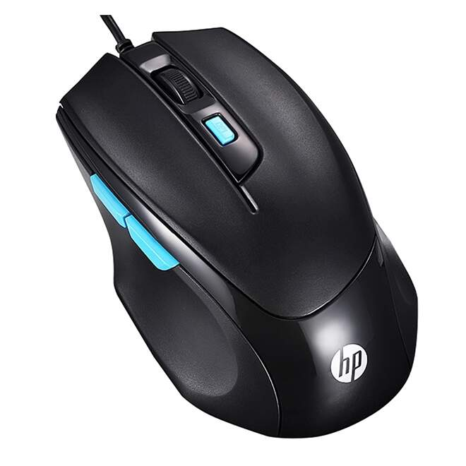 Mouse HP M150 Gaming 1600dpi USB Preto