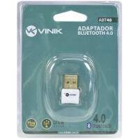 Adaptador Bluetooth 4.0 Vinik ABT40 USB
